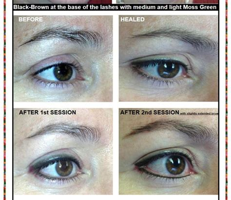eyeliner tattoo migration permanent makeup houston