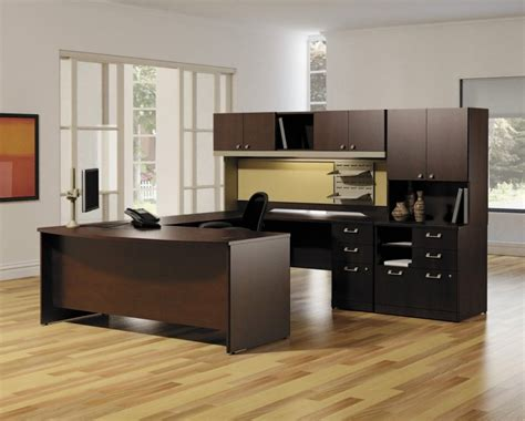 Apartments Modern Home Office Furniture Set Design With Wooden Office Furniture For The Home