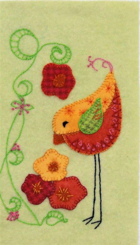 felt applique patterns 1013 best images about wool applique on felt