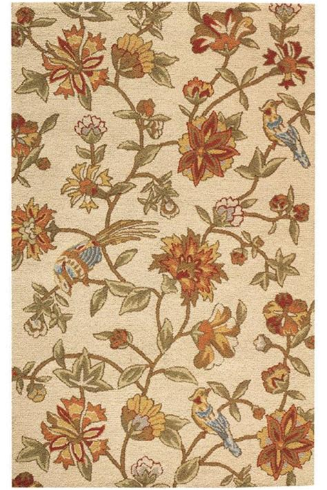 Pottery Barn Rugs Clearance Lals On Clearance Pottery Barn Bird Floral Rug Decor Look Alikes