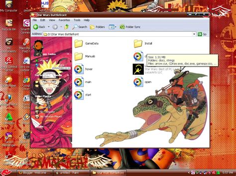 download themes naruto windows xp download theme naruto windows xp