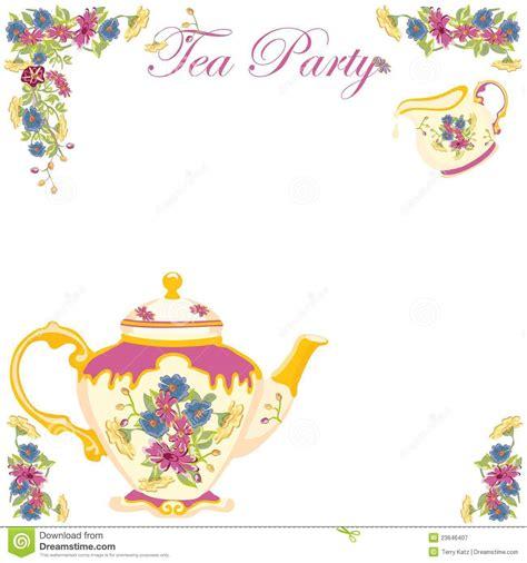 staggering tea party birthday invitations iloveprojection com