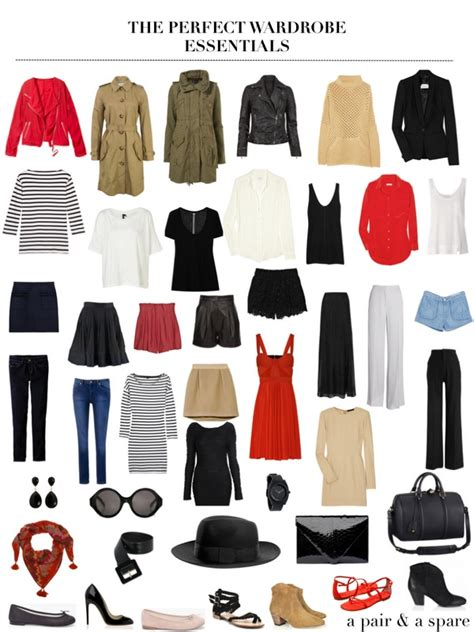 S Wardrobe Basics wardrobe essentials checklist for list of