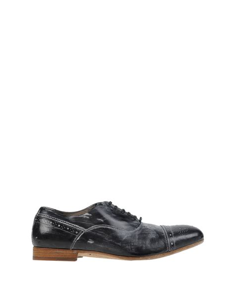 Lace Shoes Dg Inspired dolce gabbana lace up shoes in black for lyst