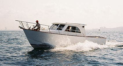 planing hull fishing boat boat plan roberts coastworker 25 fishing work boat
