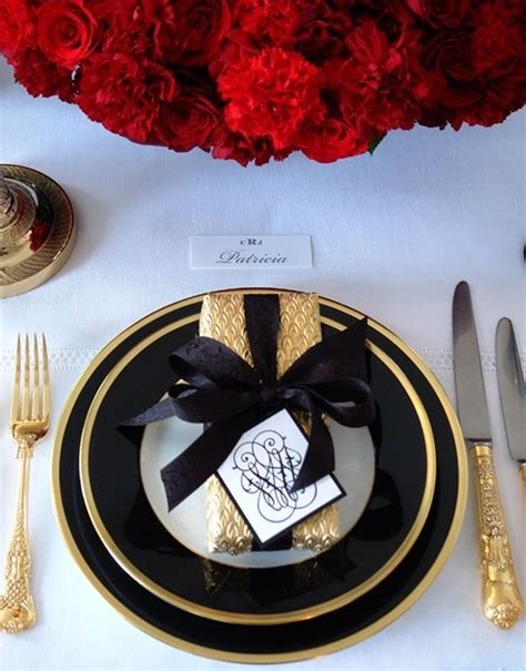 black and gold table setting 50 table setting ideas to your guests loombrand