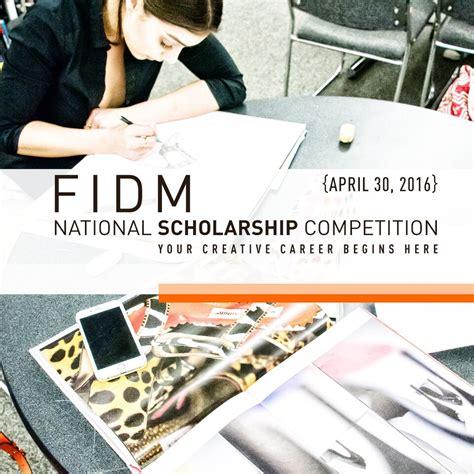 fashion illustration competition 2018 fidm national scholarship competition 2018 2019 usascholarships