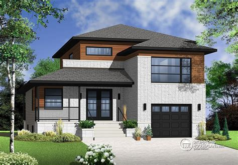 modern split level house plans contemporary style of surprises drummond house