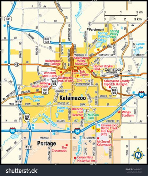 zip code map kalamazoo county kalamazoo michigan map michigan map