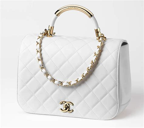 Chanels Carry Chic Flap Bag chanel carry chic bag collection bragmybag