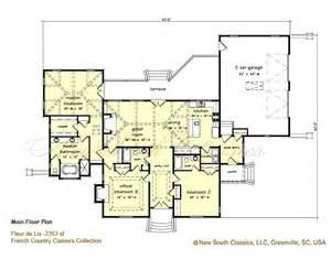 Fleur De Lys Mansion Floor Plan by New South Classics Fleur De Lis New