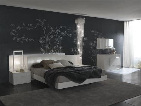 bedroom with white walls modern bedroom black and white wall decor decosee com