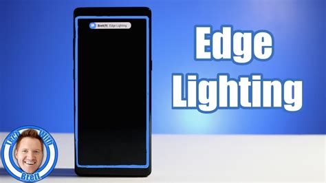 note 8 edge lighting edge lighting notification tutorial for galaxy