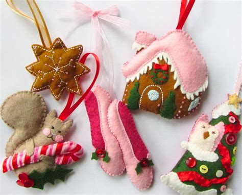 pattern for felt ornaments felt ornaments with patterns craft ideas pinterest