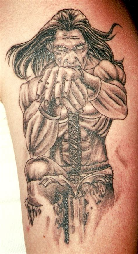 tattoo angel with sword warrior angel tattoos warrior with sword cool tattoos