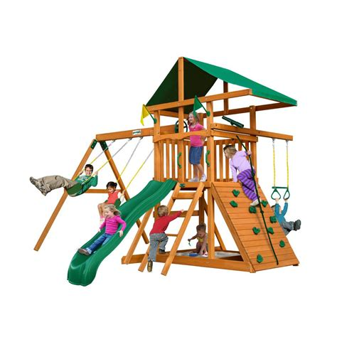 playground swing sets swing sets playground sets equipment the home depot
