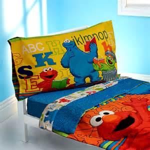 Toddler Bed Sheets Elmo Sesame Abc 123 Four Toddler Set Baby