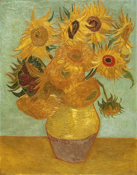 Vase With Flowers Gogh by Vase With Twelve Flowers Lone Quixote