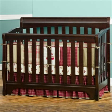 Delta Eclipse 4 In 1 Convertible Crib In Black Cherry Free Delta Eclipse 4 In 1 Convertible Crib
