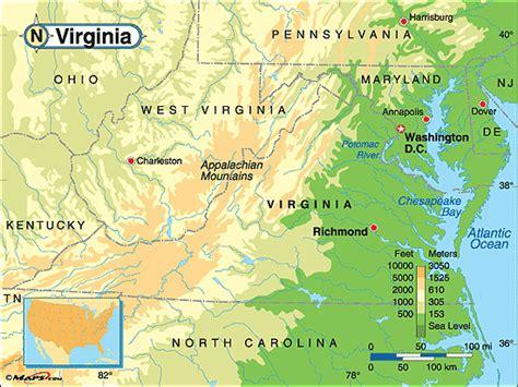 physical map of virginia 29 cool virginia physical map afputra