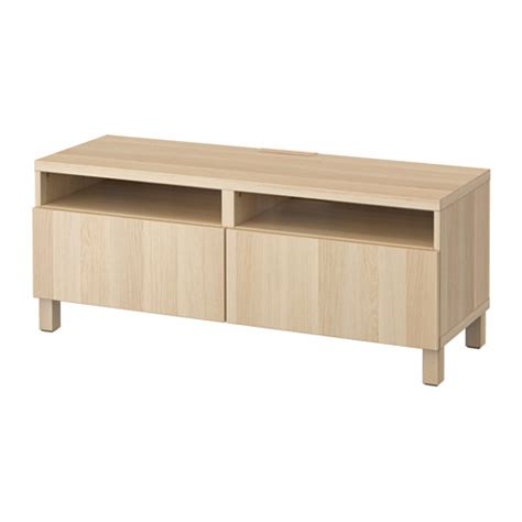 besta tv bench with drawers best 197 tv bench with drawers lappviken white stained oak