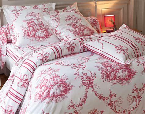 linge de lit toile de jouy linge de lit fa 231 on toile de jouy becquet cr 201 ation becquet