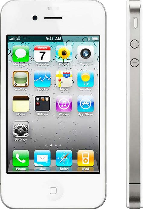 refurbished iphone  gb white  good condition