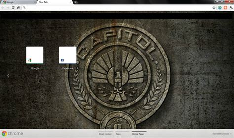 hunger games themes for google chrome the hunger games chrome theme by stayunnoticed on deviantart