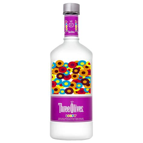 vodka with olives three olives loopy vodka 1 75l crown wine spirits