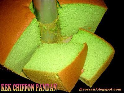 Chiffon Pandan Topping Kacang Almond riezanie s recipe collections kek chiffon pandan 2