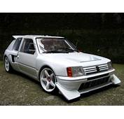 Peugeot 205 Turbo 16 Preparee Pour La Course T16 Solido