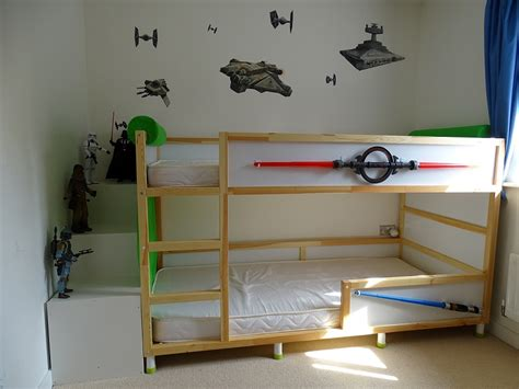 ikea loft bed hack kura trofast stuva bed hack