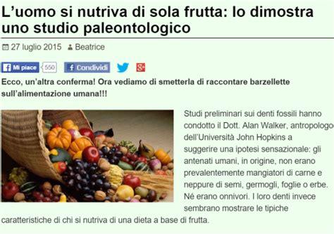 alimentazione uomo primitivo la dieta fruttariana nell uomo primitivo butac bufale