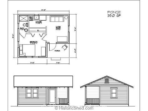 Plans For Guest House In Backyard 11 Planos De Caba 241 As Peque 241 As De Buen Dise 241 O