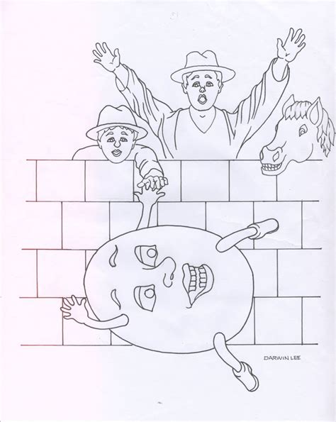 Humpty Dumpty Coloring Pages To Download And Print For Free Humpty Dumpty Coloring Page