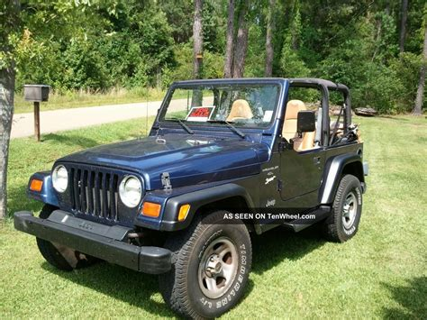 1997 Jeep Wrangler Models 1997 Jeep Wrangler Ii Tj Pictures Information And