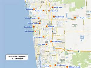 map of naples florida and surrounding area naples florida luxury golf real estate communities