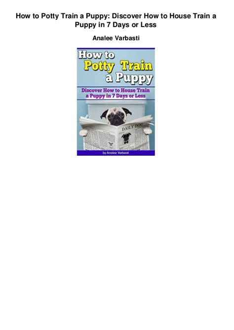 how to house a puppy in 7 days how to potty a puppy discover how to house a puppy in 7 d