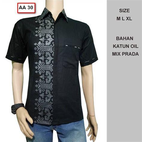 Busana Pria Pakaian Baju Kemeja Pendek Motif Batik Murah 40 foto model kemeja baju batik pria lengan pendek terbaru