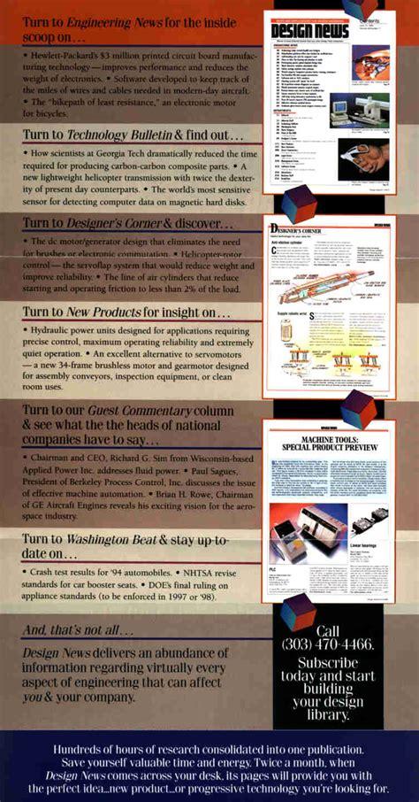 design news magazine subscription creative copywriting services for magazine subscription