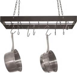 kitchen rack for hanging pots and pans