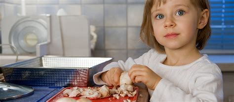 faire participer les enfants dans la cuisine