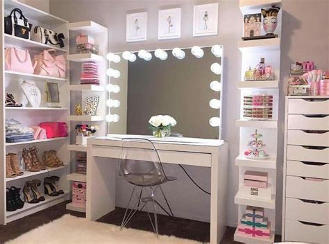 makeup vanities for bedrooms with lights vanity room tumblr vanity room tumblr 5 limonchello
