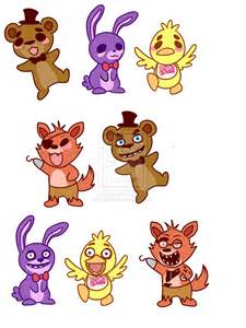 Fnaf stickers for sale by lordboop on deviantart