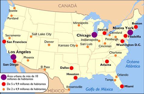 new york ciudad mas grande de estados unidos poblacion los 50 estados de estados unidos turismoeeuu