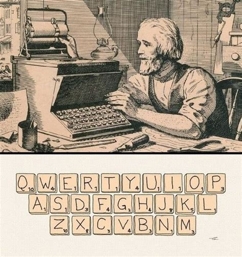 qwerty layout history funzug com the history of qwerty keyboard letters