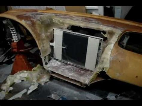 how to build a boat dashboard complete fiberglass dash build part 1 youtube