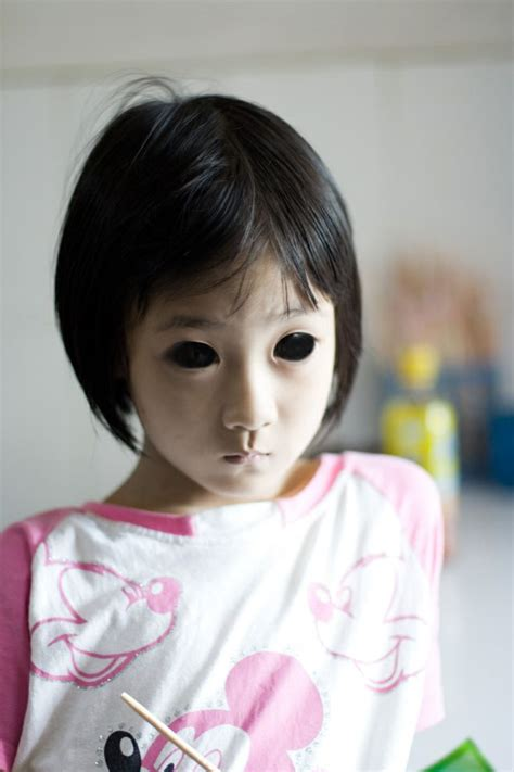 tiny pretender model japanese scp 134 quot stella quot the star eyed child a little japanese