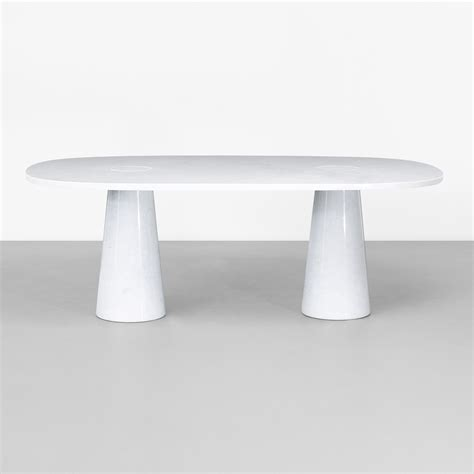 angelo mangiarotti dining table 165 angelo mangiarotti dining table from the eros collection