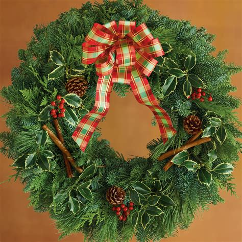 holiday wreath christmas trees and wreaths harry david